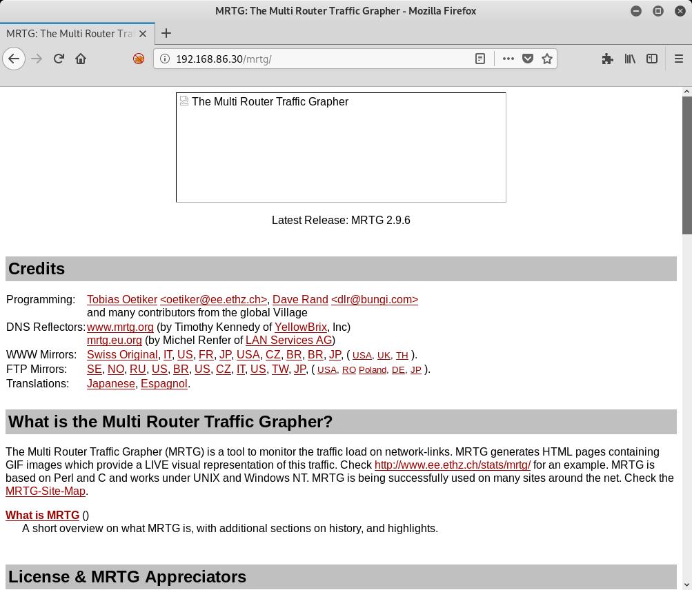 MRTG Homepage