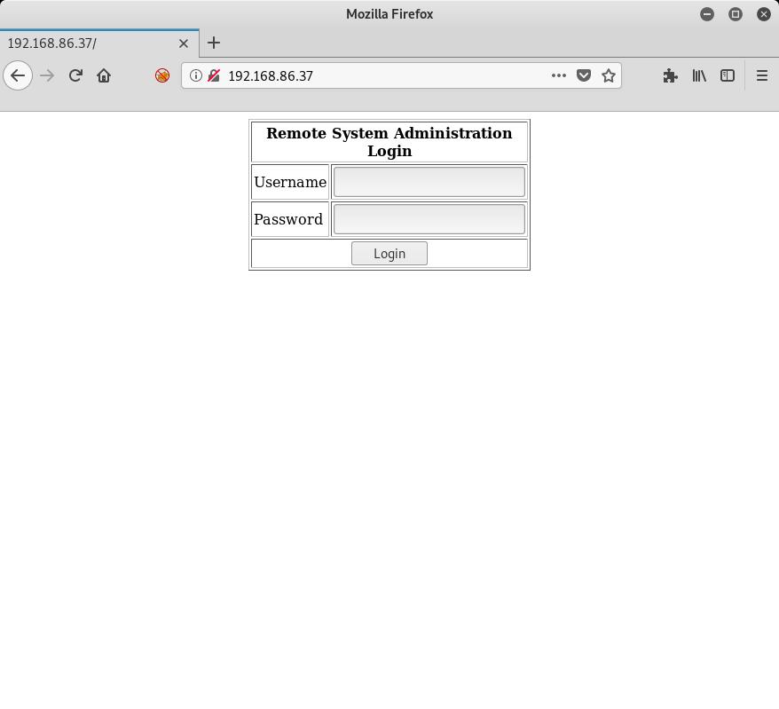 Kioptrix 1.1 Homepage