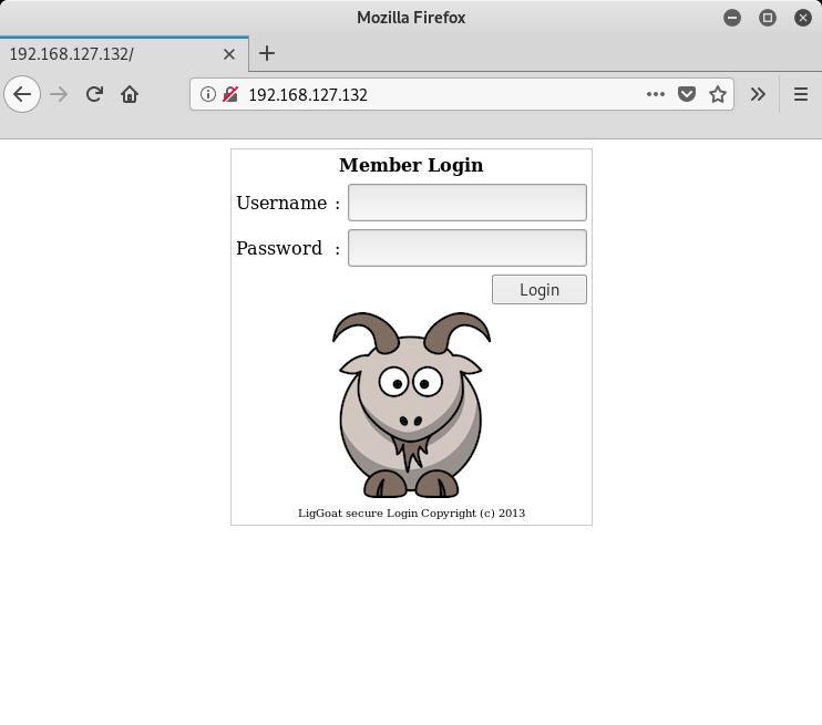 Kioptrix 1.3 Homepage